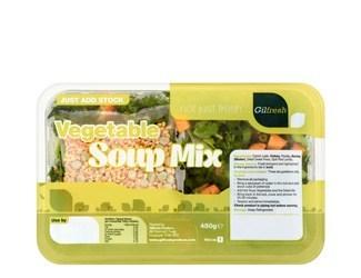 gilfresh vegetable soup mix